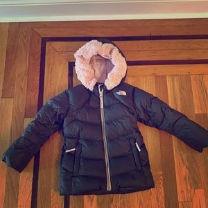 North Face puffer jacket for kids
